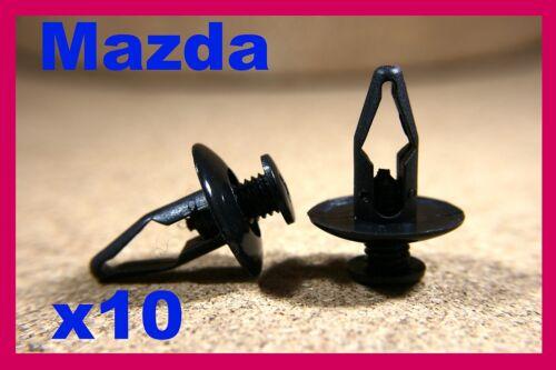 For MAZDA 10 bumper fender front rear panel lining fastener screw clip guard