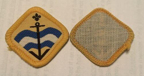 Scout Proficiency Master Seaman Badge Closed Emblem 1981-1991 Mint Condition