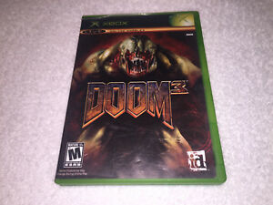 Details about Doom 3 (Microsoft Xbox) Original Release Game Complete Vr  Nice!