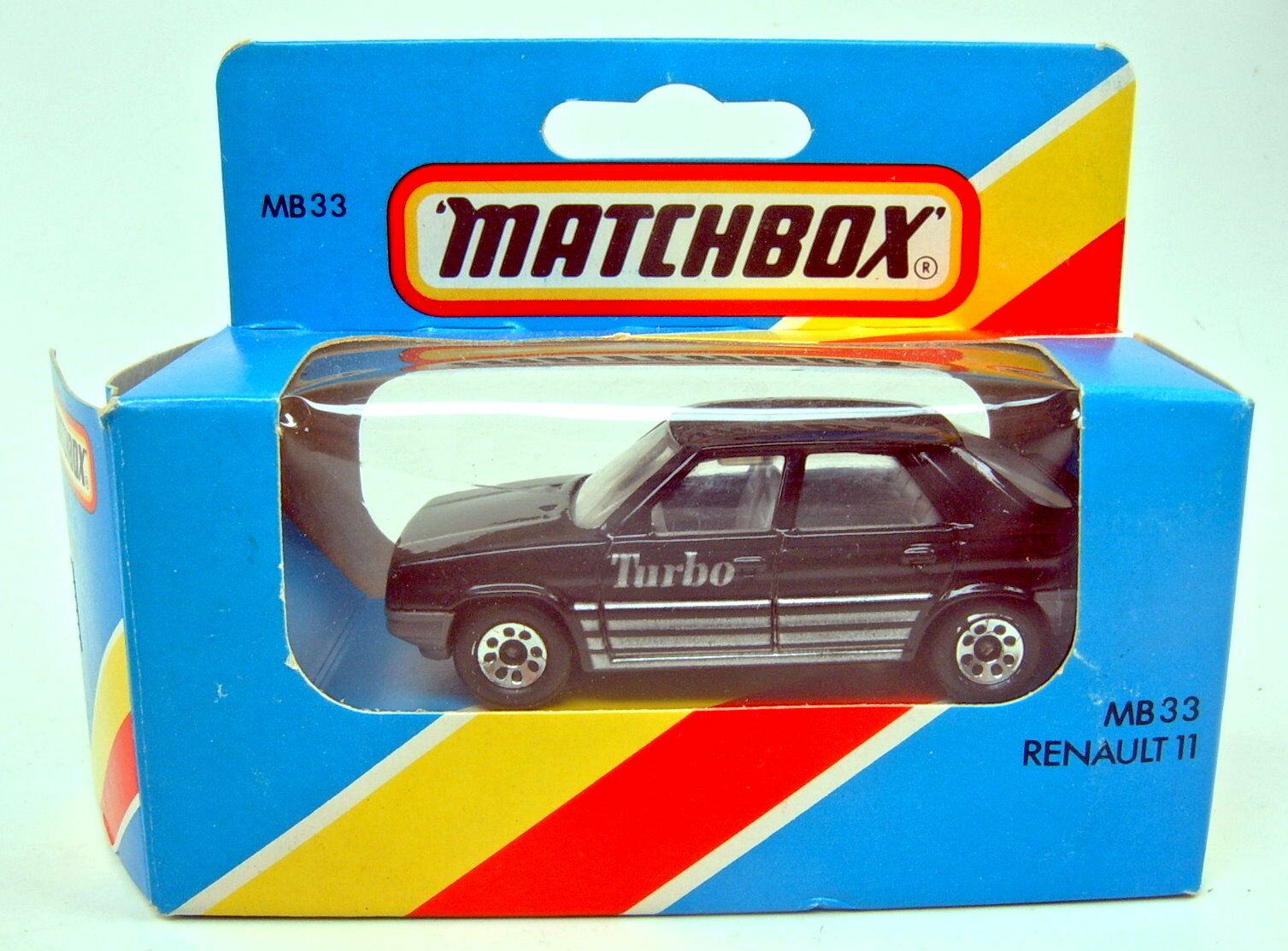Matchbox Superfast Nr.33D Renault 11 schwarz Made in England top in Box