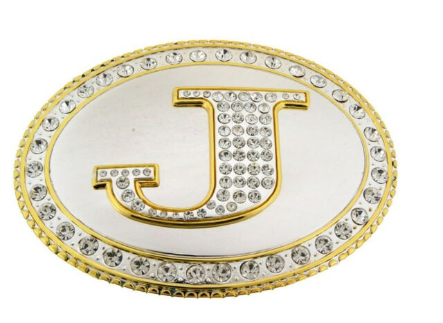 Initial G Belt Buckle Us American Costume Alphabet Letter Monogram Western Men S For Sale Online Ebay