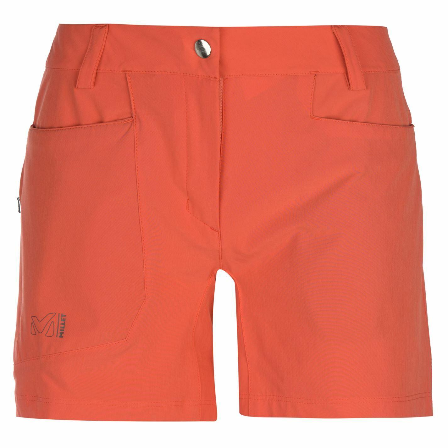 Pantalones cortos para mujer Huron Millet Caminar Pantalones Pantalones Pantalones Postal de projoección UV