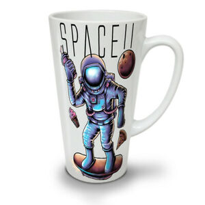 Space Pizza Food Fashion NEW White Tea Coffee Latte Mug 12 17 oz | Wellcoda