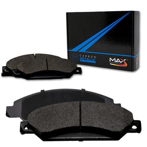 2007 GMC Savana 2500 w//8 Lug Rotors Max Performance Metallic Brake Pads F