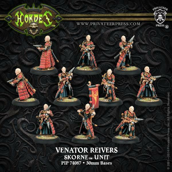 Skorne Venator Reivers Unit (10) Privateer Press [Toy] PIP 74087