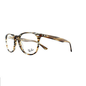 4c6b241f89e Image is loading Ray-Ban-Glasses-Frames-7159-5798-Brown-Grey-