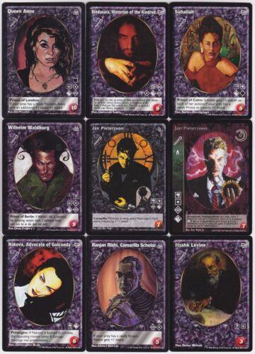Ventrue Crypt Lot G2 9x Vampires Mixed Camarilla Ed.//Gehenna//FN//AH//DS V:TES VTES
