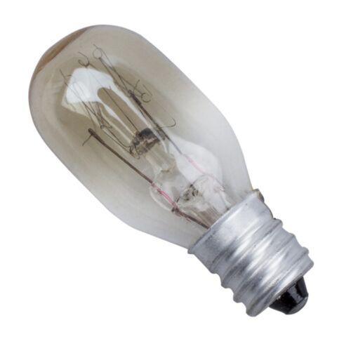 2X 220-240V 15W T20 Single Tungsten Lamp E14 Screw Base Refrigerator Bulb  TD