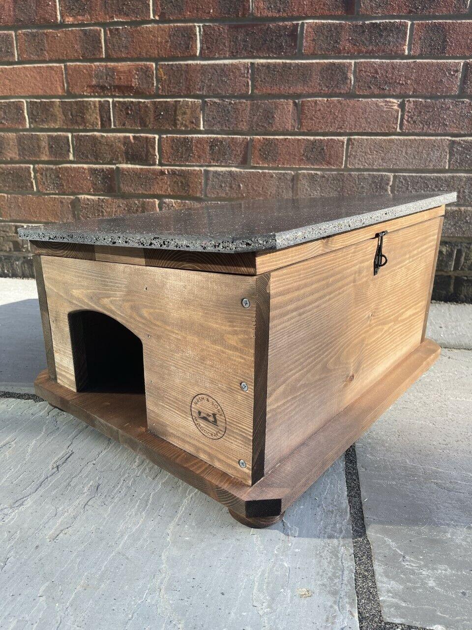 Dark Brown Hedgehog House, Hedgehog Shelter, Hedgehog Box Built to Last