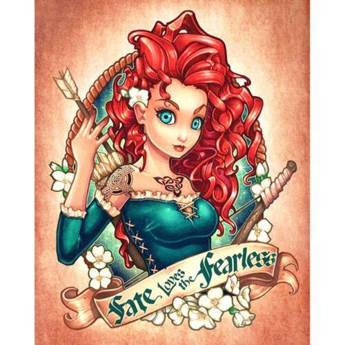 5D DIY Diamond Painting Beauty Cross Stitch Needlework Craft Mosaic Decor Gifts