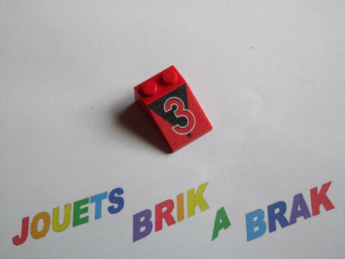 Lego briques brick slope 2x3 sérigraphiée choose pattern and quantity ref 3298