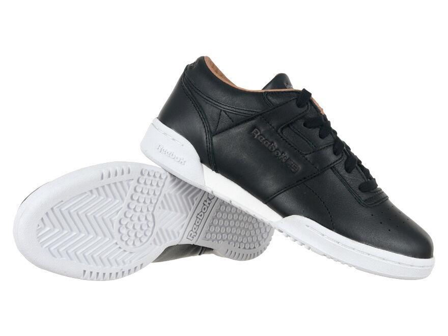 Reebok Classic treadmill lo Clean PN Pelle Scarpe shoe sneaker