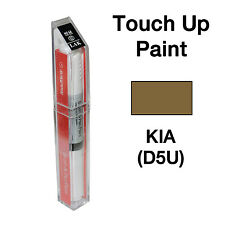 KIA OEM Brush&Pen Touch Up Paint Color Code : D5U - Sand Track Pearl