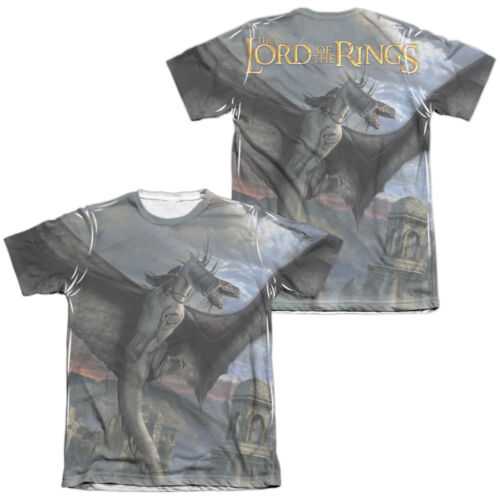 Lord of the Rings FELLBEAST 2-Sided All Over Print Poly Cotton Cotton T-Shirt