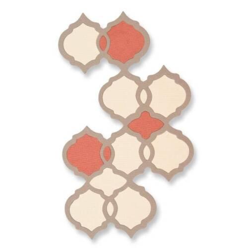 Sizzix thinlit 1 Die Set-Marroquí Azulejo 661725 NUEVO FREE P /& P