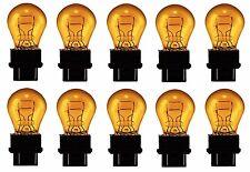 10x 3157 Amber Bright Daytime Running Bulbs Brake Light Turn Signal Lamps 3157NA