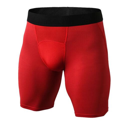 Eg /_ Herren Kompressionsstrumpfhose Fitness Shorts Rennen Sport und