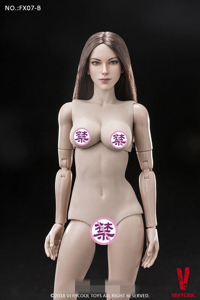1   6 verycool fx07-b supermodel weiblichen kopf zu formen und gummi - brust stelle.