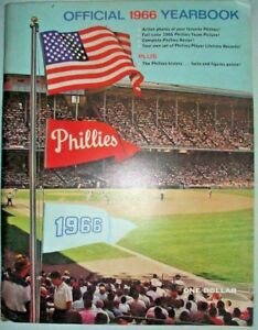 1966-Philadelpia-Phillies-Official-Yearbook-Good-Condition