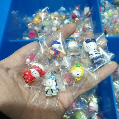 20pc Random mini doesn/'t repeat Hello kitty Anime action figure collection toys