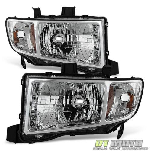 For 2006-2014 Honda Ridgeline Pickup Headlights Headlamps Replacement Left+Right