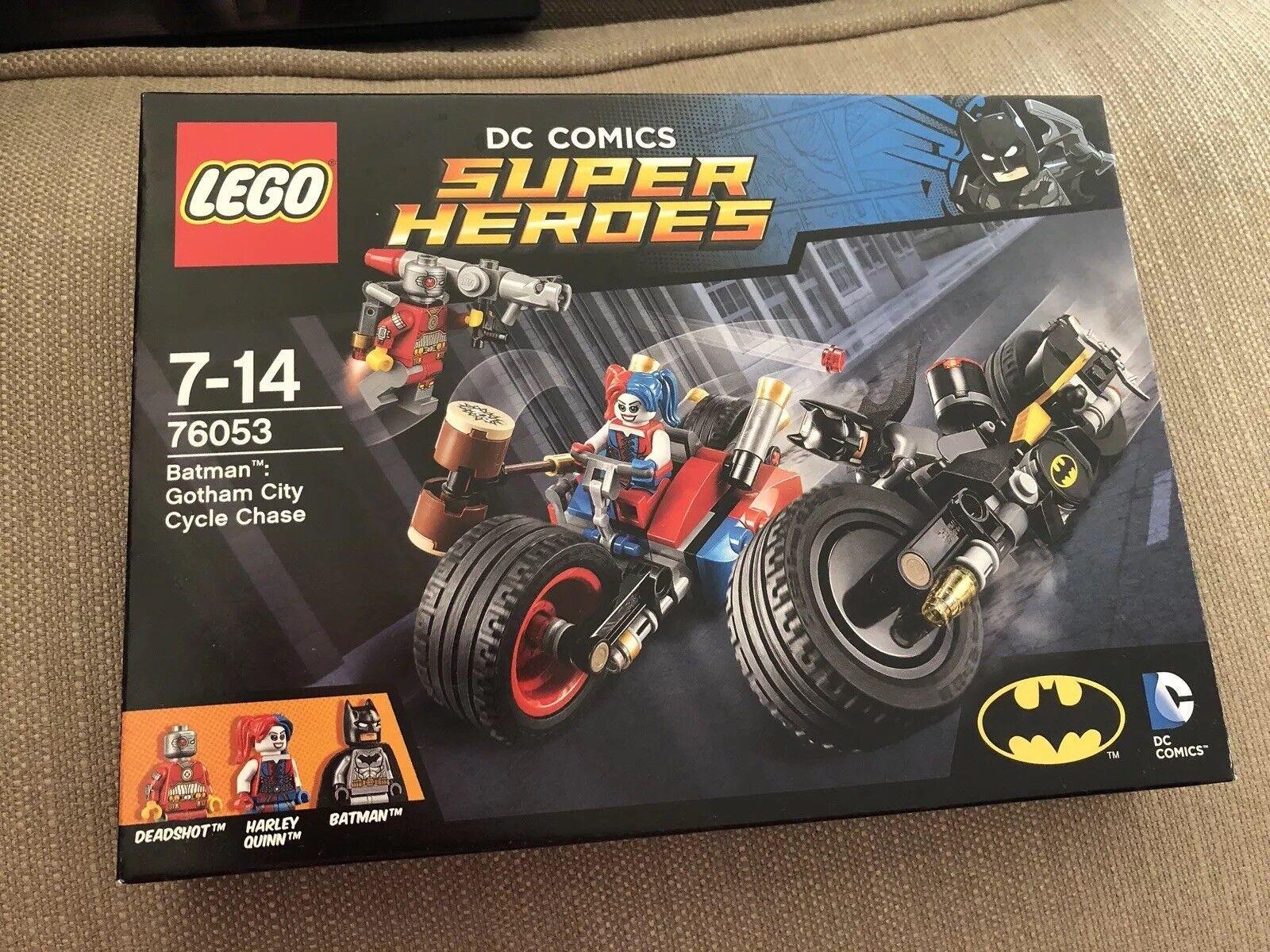 Lego DC Comics Super Heroes 76053 Batman  Gotham City Cycle Chase - BNIB