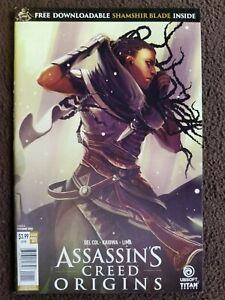 Assassin S Creed Origins 1 Titan Comic Ubisoft Code Unpeeled Ebay