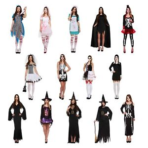 Halloween-Fancy-Dress-Dressing-Up-Outfits-Costumes-Various-Designs-Adult-Female