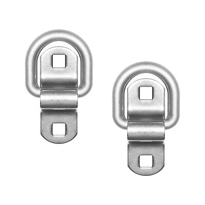 Surface Mount D-Ring 6,000 lb Capacity  20-Pack Heavy Duty USA Tiedown Anchors