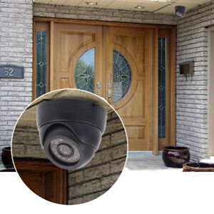 Indoor-Outdoor-CCTV-Video-24-IR-LED-3-6mm-Lens-Night-Wired-Dome-Camera-Security
