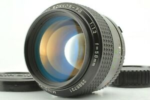EXC-Minolta-MC-Rokkor-PG-58mm-f-1-2-1-1-2-MC-Mount-Lens-aus-Japan