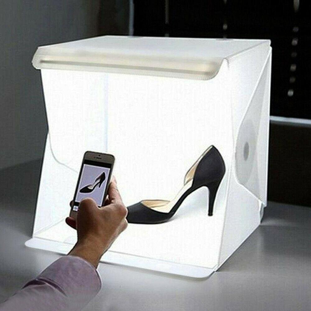 Light Room Photo Studio Photography Lighting Tent Kit Backdrop Cube Mini Box BL 2