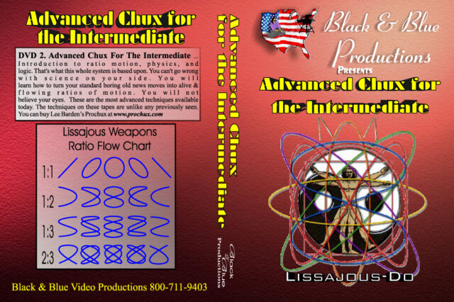 Advanced Prochux Nunchaku for Intermediate Instructional DVD Vol 2 Lee Barden
