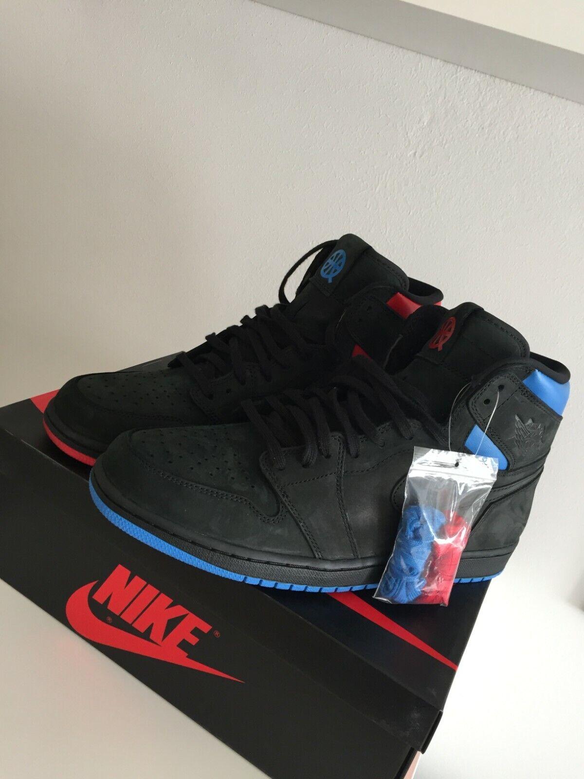 Nike Air Jordan Jordan Jordan 1 Retro High OG Quai Q54 45,5 US11,5 IV V XI Brot SOLD OUT NEU 9559ad