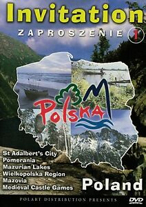 Invitation To Poland V 1 Dvd Zaproszenie Do Polski Cz 1 Ntsc