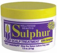 Hollywood Beauty Sulpher Scalp Treatment, 7.5 Oz (pack Of 2) on sale