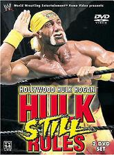 WWE - Hollywood Hulk Hogan: Hulk Still Rules (DVD, 2002, 2-Disc Set) FREE SHIP!!