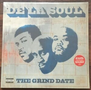 De-La-Soul-Grind-Date-LP-Vinyl-New-Double-LP-Album-Unreleased-Instrumentals