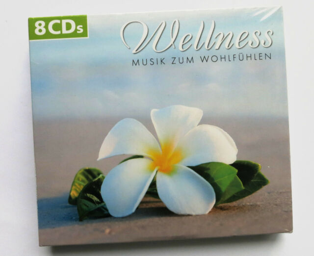 CD Wellness - Musik zum Wohlfühlen - 8 CD's !! sanfte Klänge 8er-Set  neu / OVP