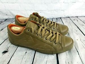 abcef378dad0 CONVERSE Star Player 75 OX Low Top Olive Green Shoes 121099 Size 13 ...