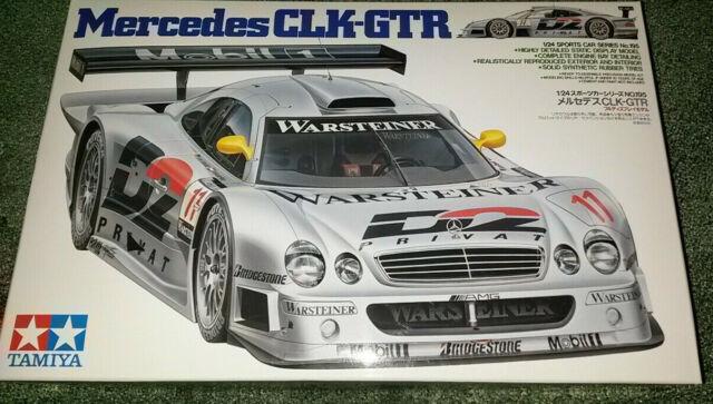 TAMIYA 24195 MERCEDES CLK-GTR SUPER CAR 1:24 SCALE KIT