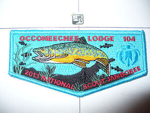 Image Is Loading OA Occoneechee 104 S 100 2013 BSA Jamboree