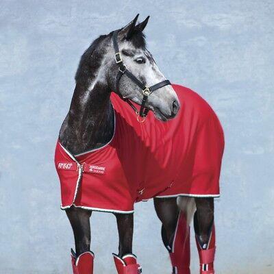 Frugale Horseware Amigo Jersey Cooler-red/white-mostra Il Titolo Originale