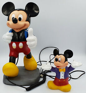 DISNEY-MICKEY-MOUSE-MONEY-BANK-MICKEY-MOUSE-TELEPHONE-SK