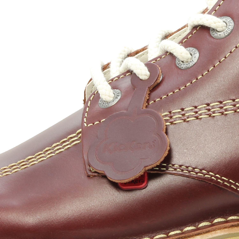 Kick Rojo Kickers Zapatos Oscuro Hombres Botas Para Hi BWd6ndTqS