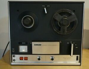 Sony-TC-252-D-Solid-State-Reel-To-Reel-Stereo-Tape-Recorder-Powers-On-Parts
