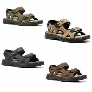 MENS-HUSH-PUPPIES-SIMMER-BROWN-GREYSTONE-GREY-SANDALS-LEATHER-SUMMER-SHOES