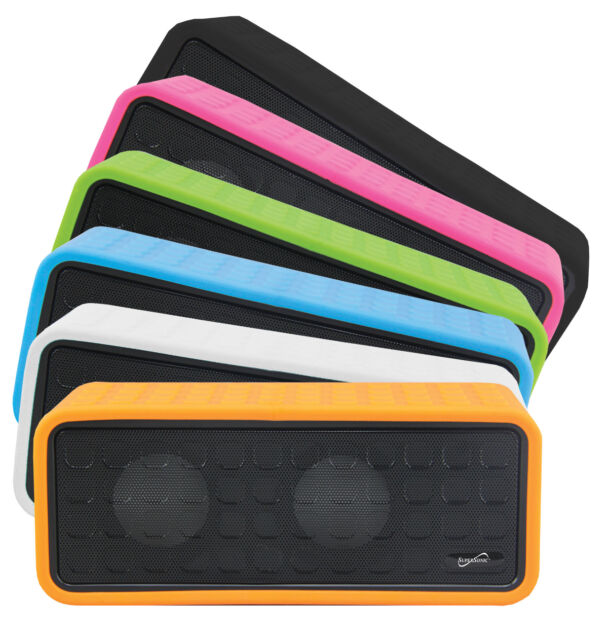 Supersonic Sc-1366bt Portable Bluetooth Rechargeable Speaker Black Brand New
