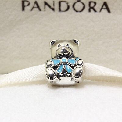 Authentic Pandora Quot It S A Boy Quot Teddy Bear 781124en41