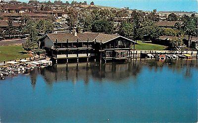 Lake san marcos ca frolander 39 s quail 39 s inn dinnerhouse postcard ebay - Quails inn restaurant san marcos ...